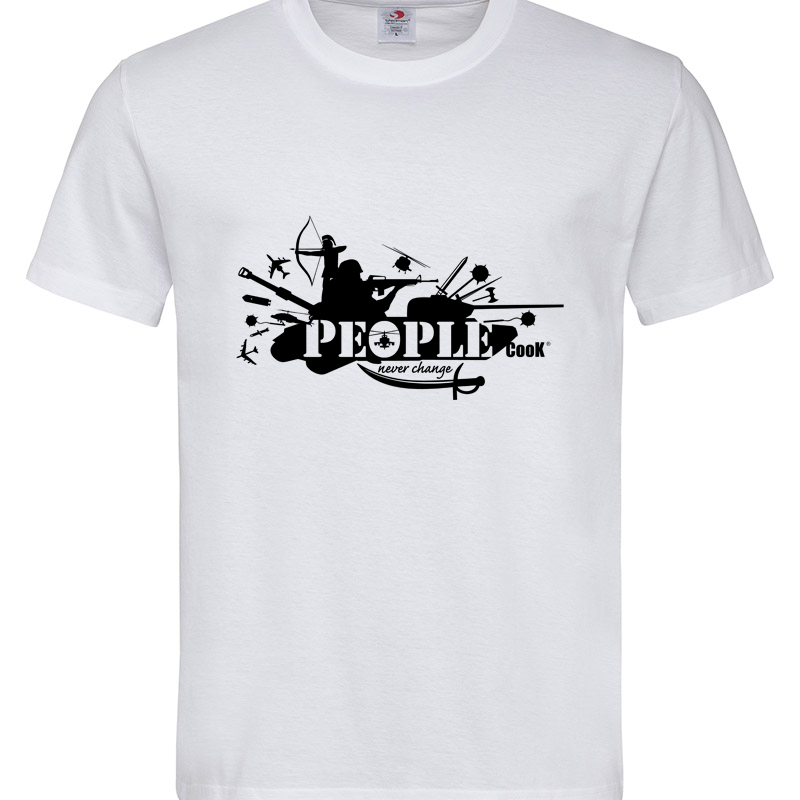 PEOPLE WAR COOK T-SHIRT