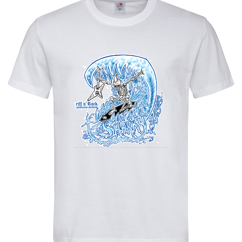 SURFER SKULL T-SHIRT