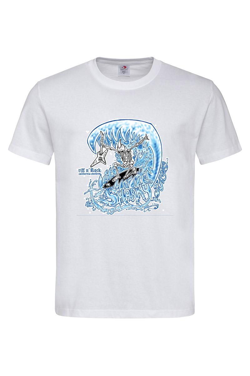 SURFER SKULL T-SHIRT