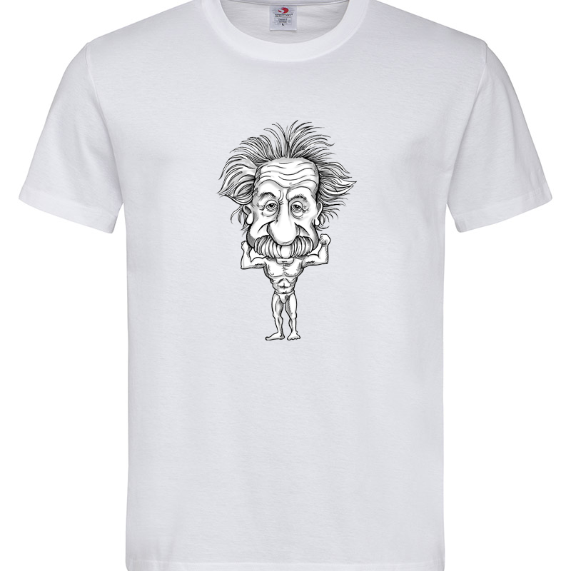 ALBERT EINSTEIN 2 T-SHIRT