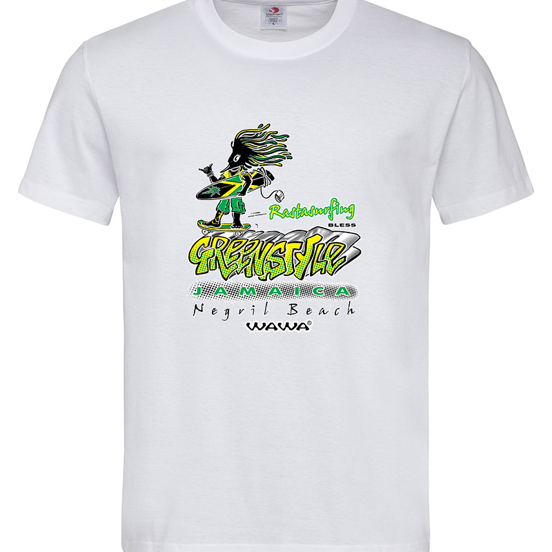 JAMAICA SURF T-SHIRT