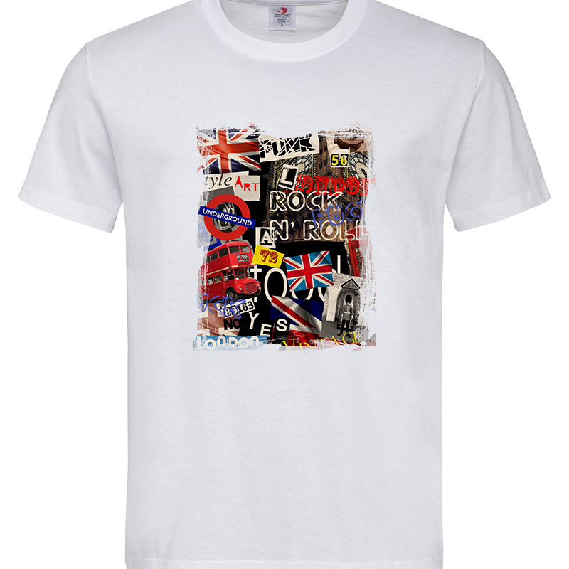 LONDON COLLAGE T-SHIRT