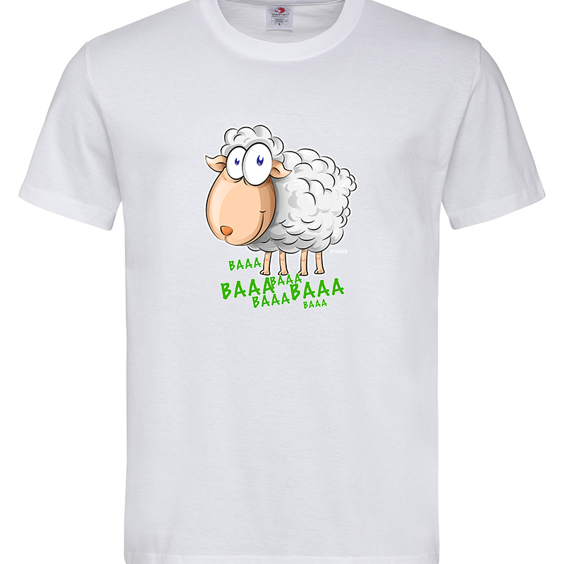 SHEEP CARTOON T-SHIRT